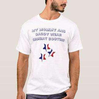T-shirt Mon usage de maman ET de papa combattent la BO…