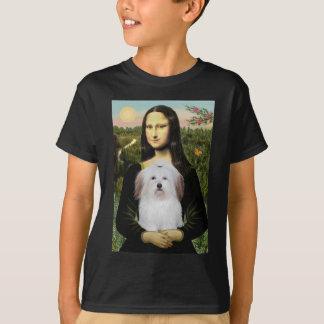 T-shirt Mona Lisa - coton De Tulear