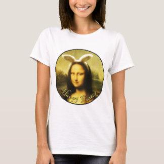 T-shirt Mona Lisa, le lapin de Pâques
