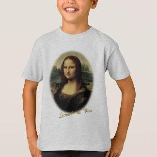 T-shirt Mona Lisa par Leonardo da Vinci