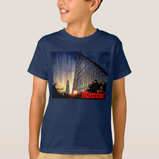 T-shirt Monde de montagne russe de Mamba d'amusement