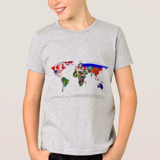 T-shirt monde pendant