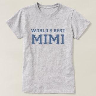 T-shirt Mondes meilleur Mimi
