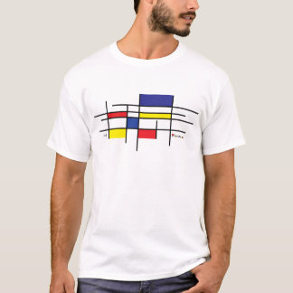 T-shirt mondrian