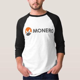 T-shirt Monero 3/4 chemise de douille raglane