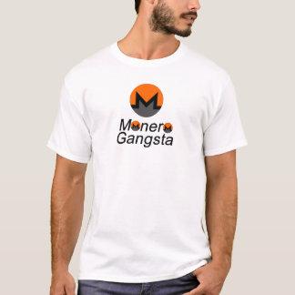 T-shirt Monero Gangsta - crypto devise avec la