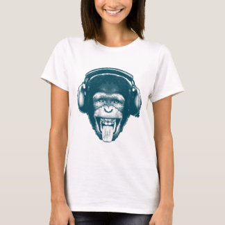 T-shirt monkeyheadphones