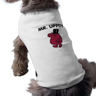 T-shirt Monocle de M. Uppity | et chapeau supérieur