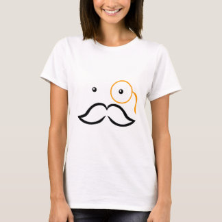 T-shirt Monocle et moustache