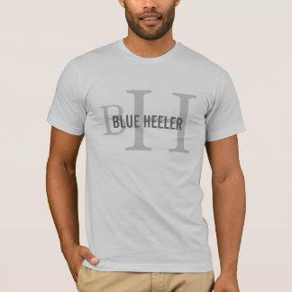 T-shirt Monogramme australien de chien de bétail