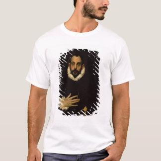 T-shirt Monsieur avec sa main sur son coffre, c.1580