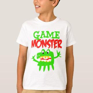 T-shirt Monstre de jeu