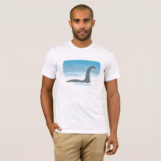 T-shirt Monstre de Loch Ness avec le tee - shirt