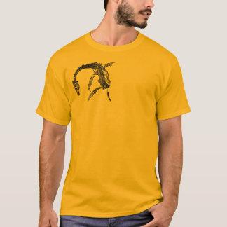 T-shirt Monstre de Loch Ness/T-shirt fossile de Plesiosaur