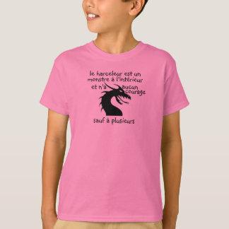 t-shirt monstre harceleur
