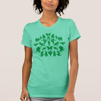 T-shirt Monstres verts