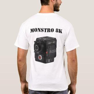 T-SHIRT MONSTRO ROUGE 8K