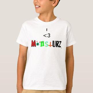 T-shirt monstURZ I <3