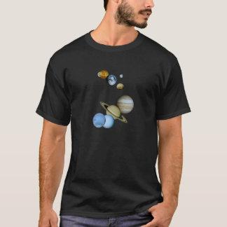 T-shirt Montage planétaire