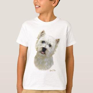T-shirt Montagne Terrier blanc occidentale
