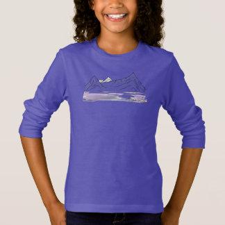 T-shirt Montagnes de l'Himalaya/long dessus douille de