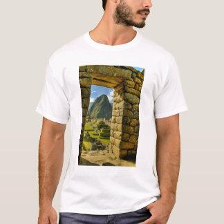 T-shirt Montagnes du Pérou, les Andes, les Andes, Machu