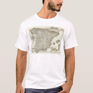 T-shirt Montagnes et rivières de Madrid, Espagne