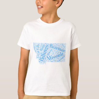 T-shirt Montana-bleu