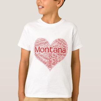 T-shirt Montana-coeur