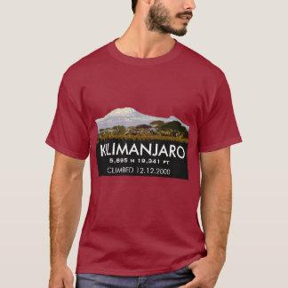 T-shirt Montée personnalisée du mont Kilimandjaro