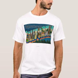T-shirt Monterey, la Californie - grandes scènes 2 de