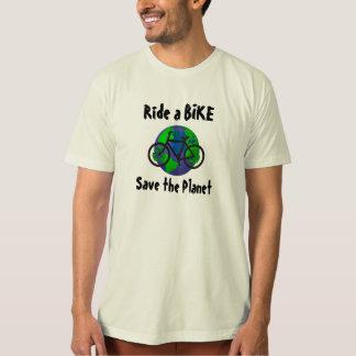 T-shirt Montez des économies de vélo… la planète !