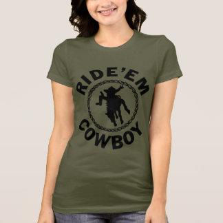T-shirt Montez-les cowboy - rodéo occidental