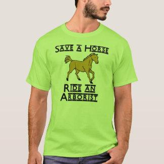 T-shirt montez un arboriste