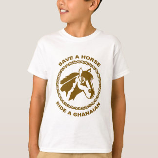 T-shirt Montez un ghanéen