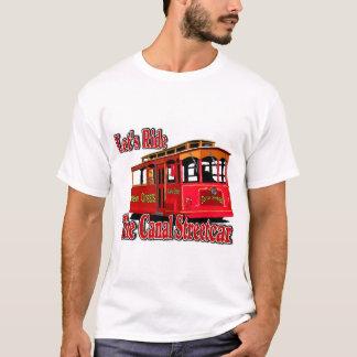 T-shirt Montons le tramway de canal