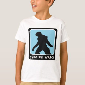 T-shirt Montre de Squatch - chasseur de Sasquatch Bigfoot