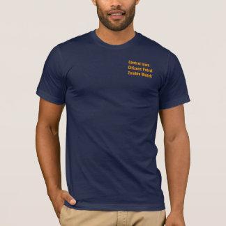 T-shirt Montre de zombi de patrouille de citoyens, USAIowa