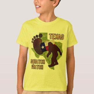 T-shirt Montre du Texas Squatch