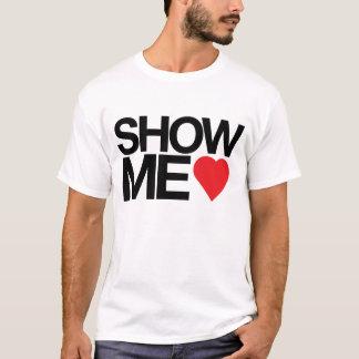 T-shirt Montrez-moi l'amour