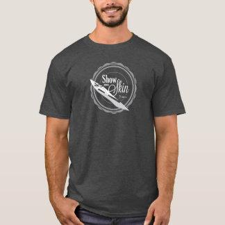 T-shirt Montrez une certaine peau - T foncé