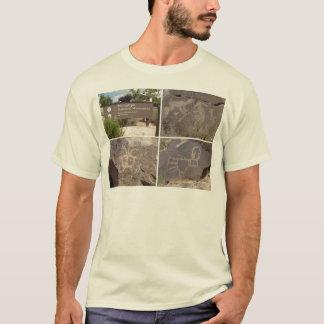 T-shirt Monument national de pétroglyphe