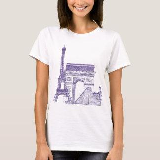 T-shirt Monuments de Paris