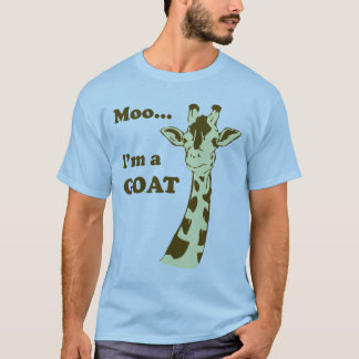 T-shirt MOO… je suis une CHÈVRE
