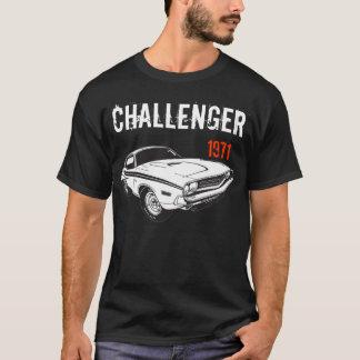 T-shirt Mopar - en 1971 Dodge Challenger