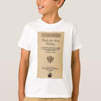T-shirt Morceau avant à beaucoup d'agitation au sujet de