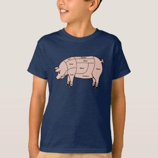 T-shirt Morceaux de porc