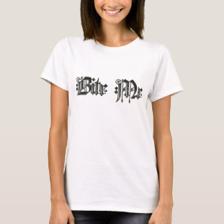 T-shirt Mordez-moi
