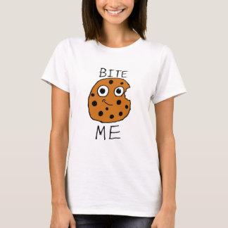 T-shirt Mordez-moi biscuit
