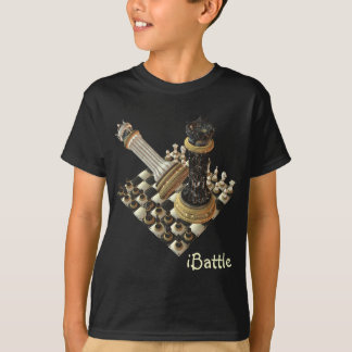 T-shirt Mordu d'échecs